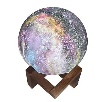 Strir Pleine Magique Nuit Lampe Lune La Led De Casa 3d D2EbHIeW9Y