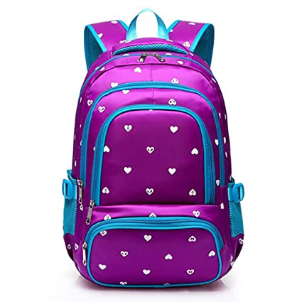 Backpack - Childrens Lightweight Girl Bag Childrens Backpack Bag Primary School Large Capacity Bag [Four