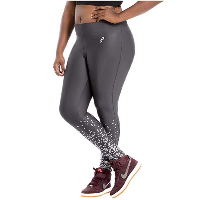 Duplah Macadamia Womens Fashion Workout Pants Leggings Plus ...