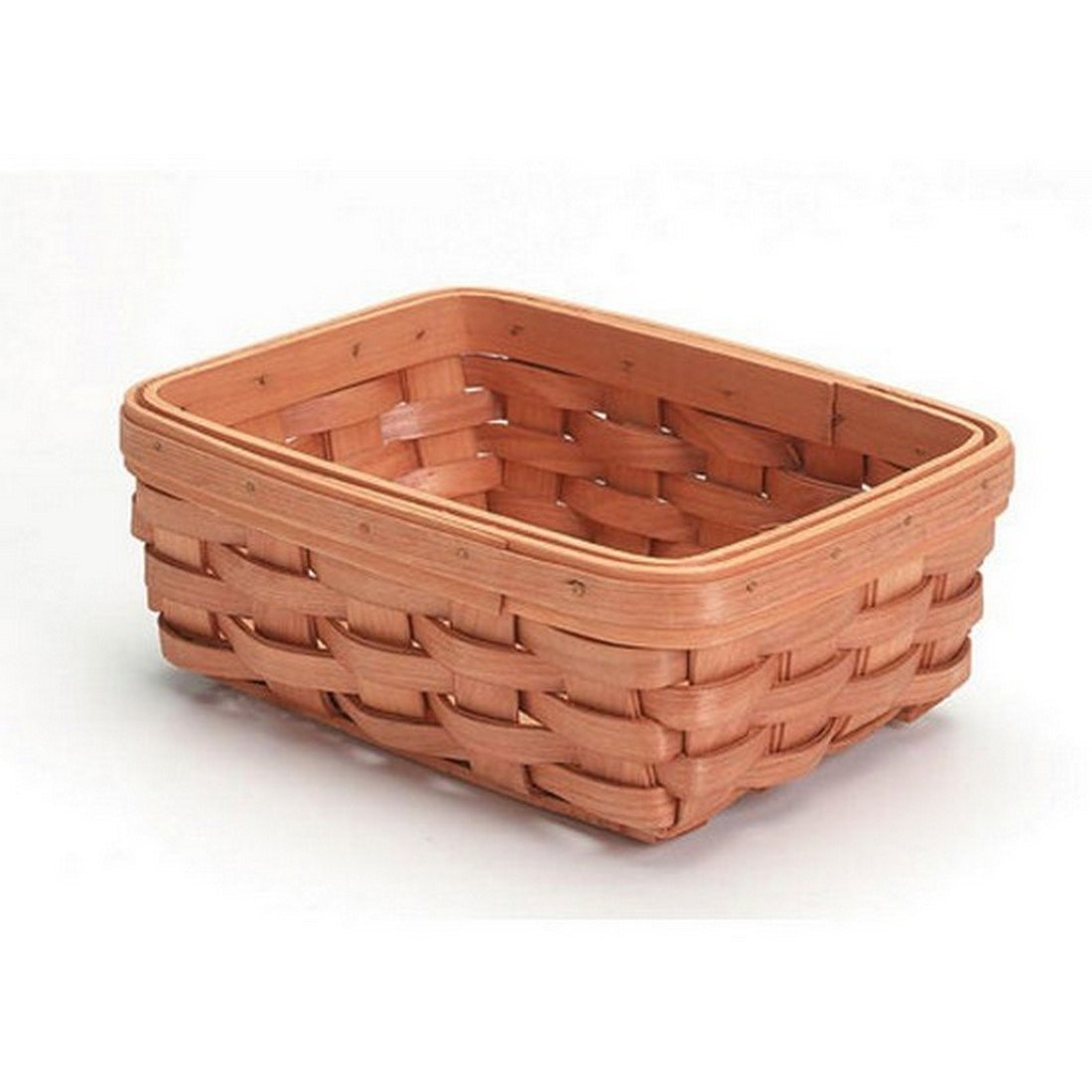 Darice Basket Shelf Wood Country Tray 8 x 6 x 3in. (12 Pack) 2848 16 bundled with 1 Artsiga Crafts Small Bag by Homeline Goods Darice Baskets (Image #2)
