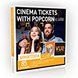 Buyagift Cinema Tickets with Popcorn Gift Experiences Box – 85 UK cinema and popcorn experiences for two