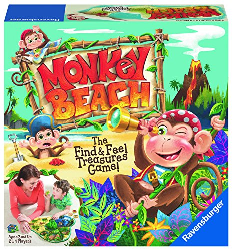 Monkey Beach Preschool Game