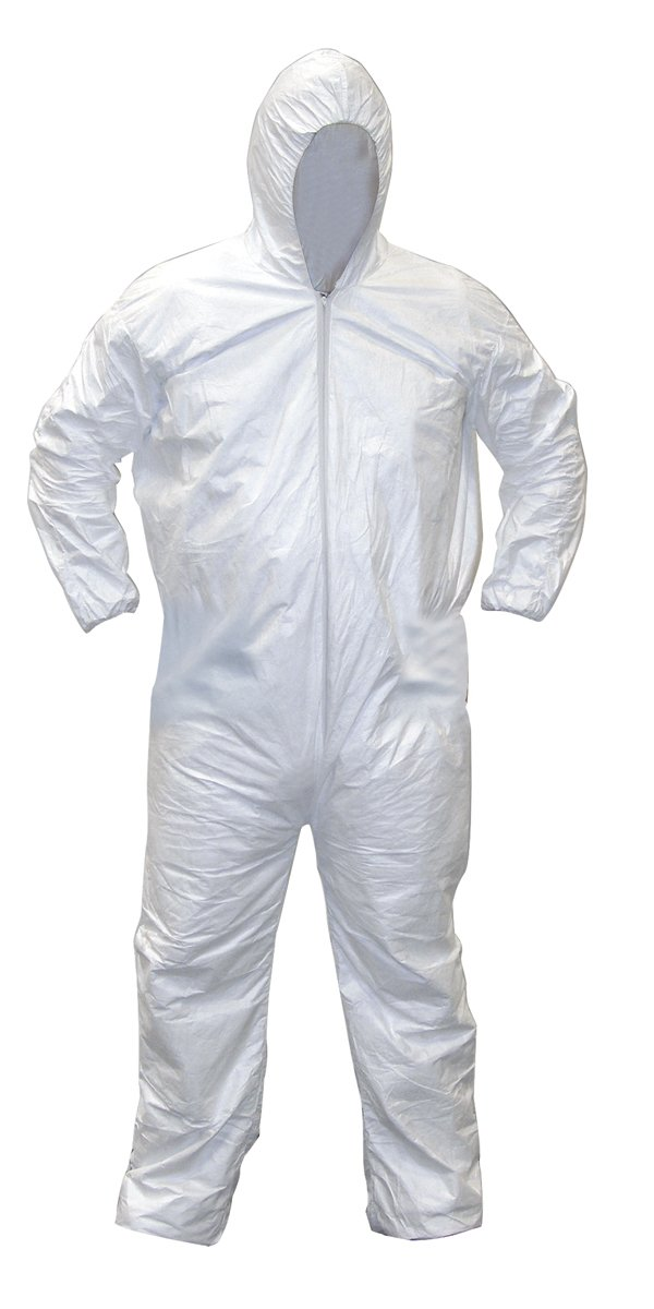 SAS Safety 6892 Gen-Nex All-Purpose Hooded Painter's Coverall, Medium
