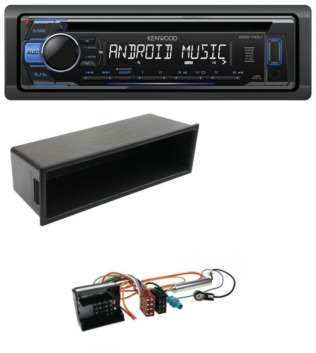 caraudio24 Kenwood KDC-110UB 1DIN MP3 USB CD Aux Autoradio fü r Citroen Berlingo C2 C3 Jumpy
