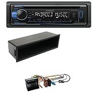 caraudio24 Kenwood KDC-110UB 1DIN MP3 USB CD Aux Autoradio für Citroen Berlingo C2 C3 Jumpy