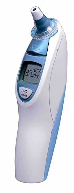 Braun Thermoscan 5 Irt4520 Ear Thermometer With Nattou Elephant Toy