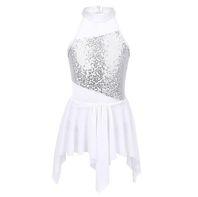 iiniim Vestido Maillot de Ballet Danza Niña Maillot con Falda ...