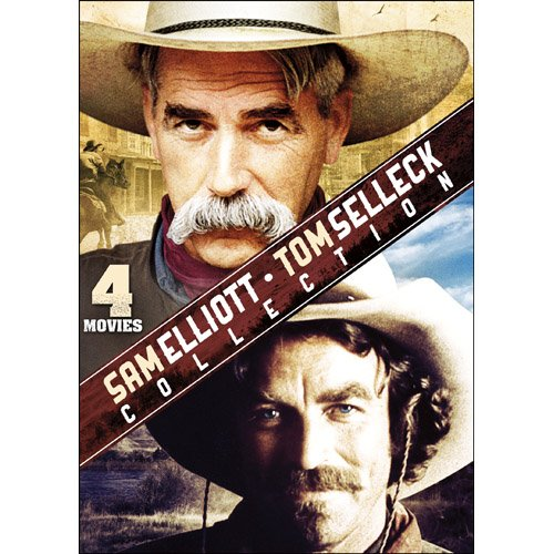 Sam Elliott & Tom Selleck Collection: Blue River / Gone to Texas / I will Fight No More Forever / Superdome ()