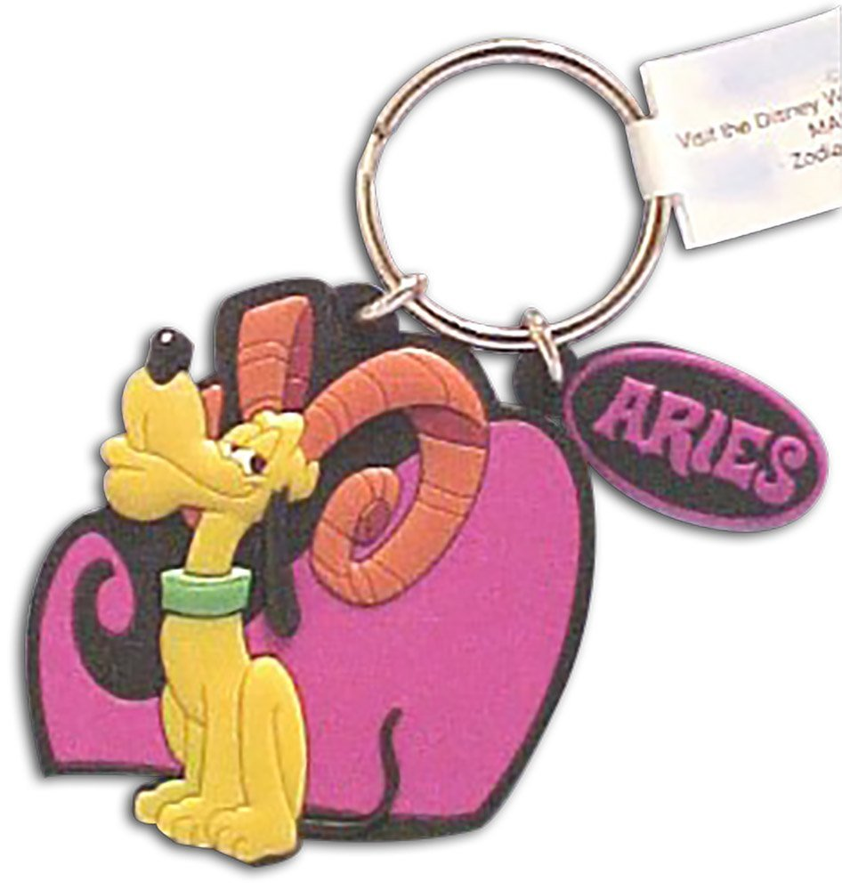 Amazon.com: Disney zodiaco Aries Ram Pluto Llavero Mickey ...