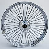 Ultima King Spoke Front Wheel, 23'' x 3.5'', Dual Disc, 2000 & Later Rotor, Ball Bearing, 1'' Axle, 37-548
