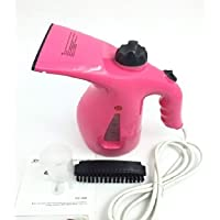 param 2 in 1 Handheld Garment Facial Steamer Brush for Ironing Clothes and Face Steaming Beauty Care Facial Massager