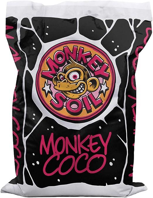 MONKEY SOIL Fibra Turba de Coco Plantas 50L Sustrato Marihuana ...