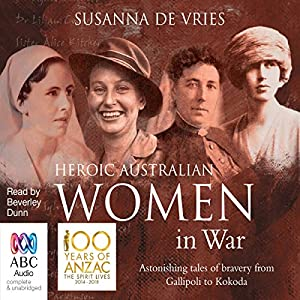Heroic Australian Women in War Audiobook
