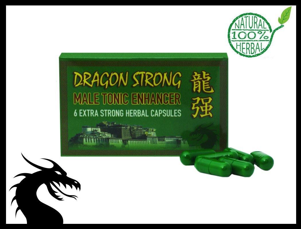 DRAGON STRONG NATURAL 450mg CAPSULES NATURAL MALE ENHANCEMENT AID PENIS  PILLS (12)