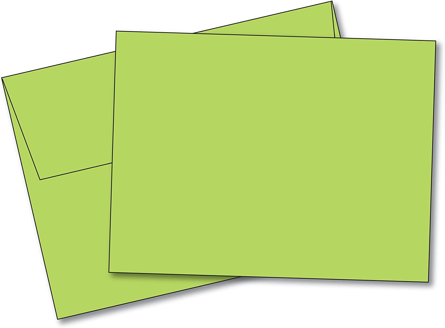 Lime Notecards sets of 5