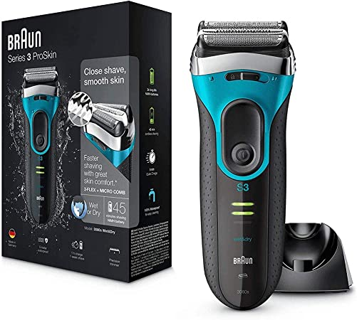 Afeitadora corporal hombres Máquina de afeitar eléctrica, húmedo y ...