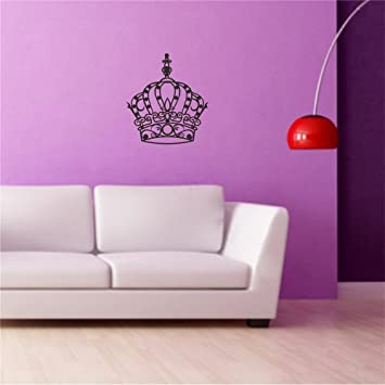 Amazon.com: WALL\'S MATTER Emperor King Queen and Princess Crown Wall ...
