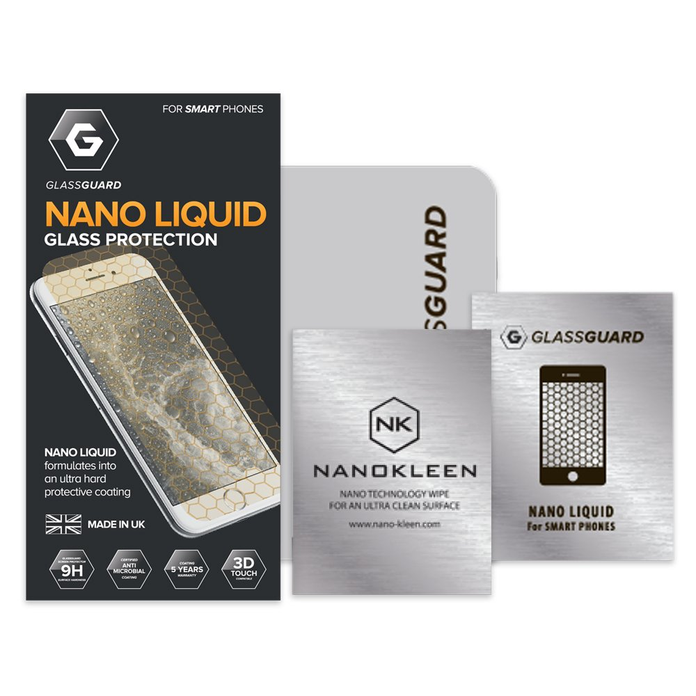 Glass-Guard Invisible Nano Protector de pantalla de cristal ...