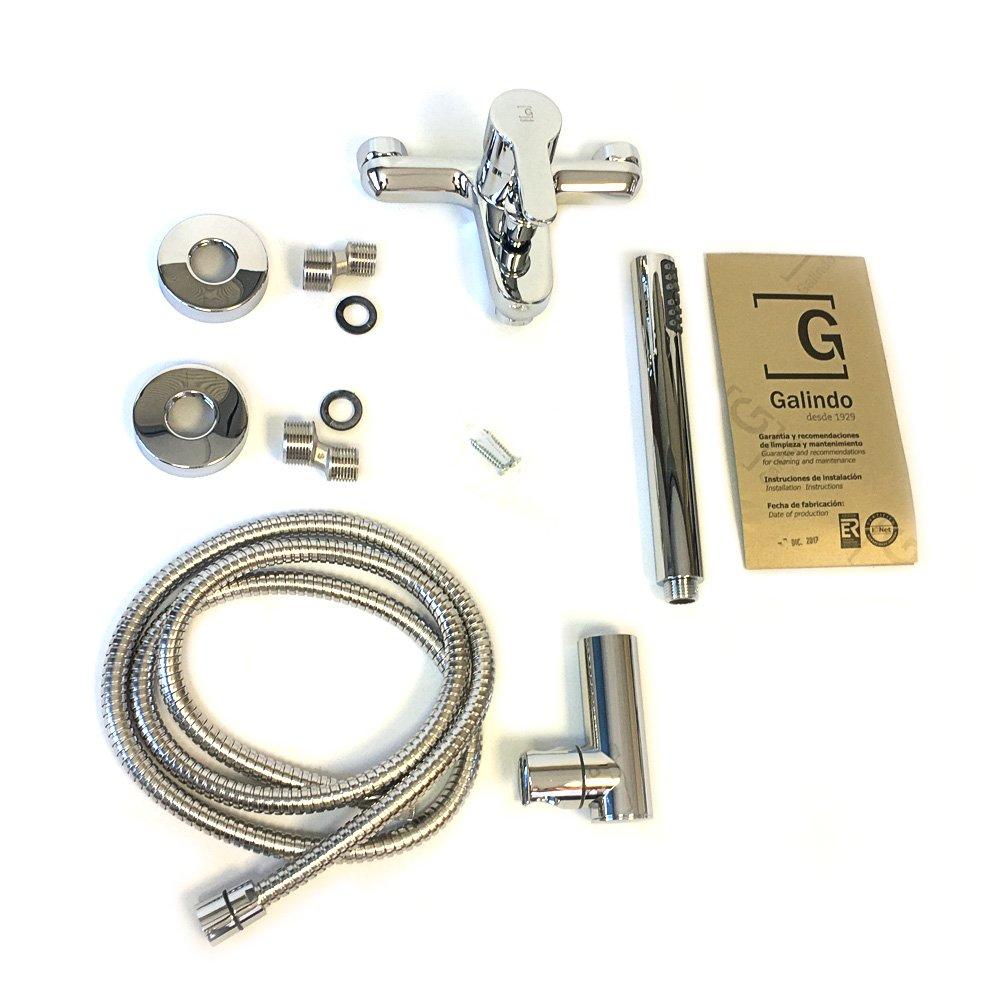 GALINDO Zip Plus 2145000 Grifo Monomando Lavabo cromado