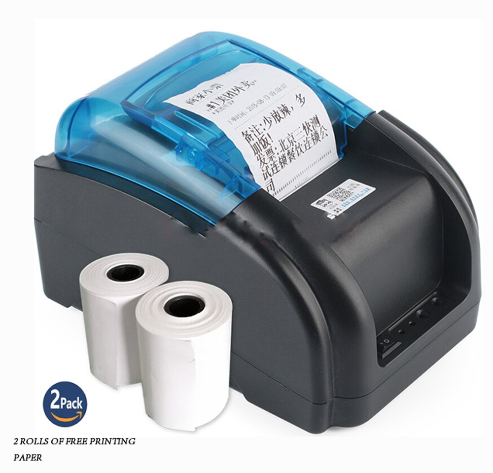 NYEAR Computers Thermal Small Two-Dimensional Code Stickers bar Code Label Printer Dual-use Machine only for Windows(12 Android +100 Apple) +2 Free Labels (USB)