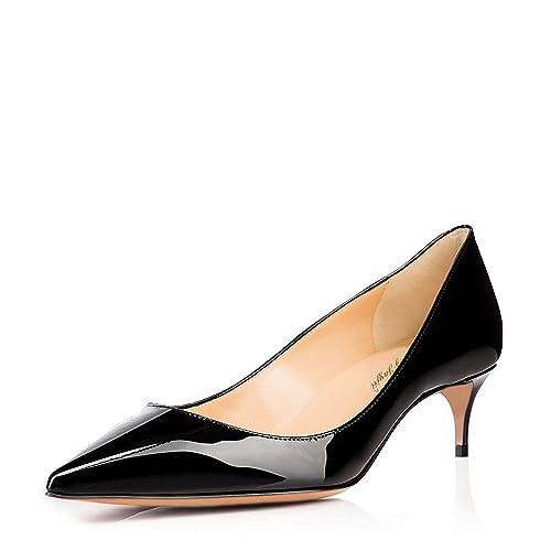 bffc8f9100c90 Amazon.com | Nancy Jayjii Low Heels Office Pumps for Women Pointed ...