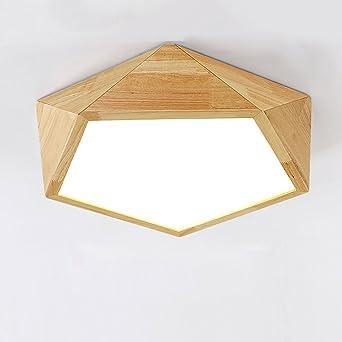 Schon Einfache Holz Decke Lampe Schlafzimmer Esszimmer Lampe Wohnzimmer  Beleuchtung Holz Japanischen Amerikanischen Stil Nordic Stil Holz
