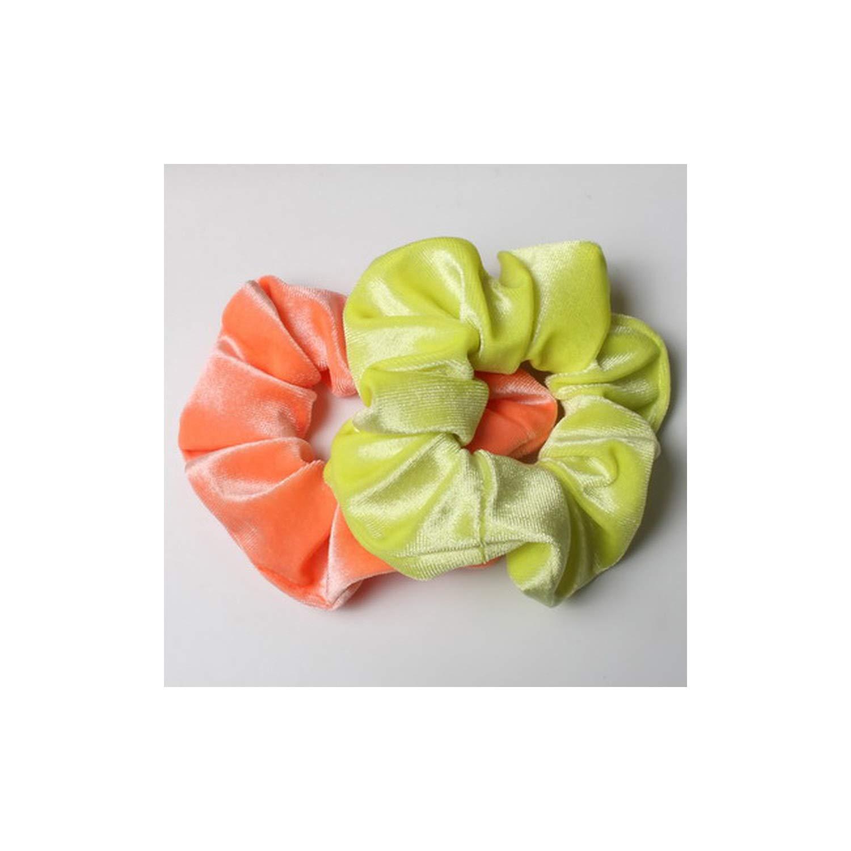 1X Velvet Scrunchies Ponytail Holder Hair Accessories Lot Elastic Hair Band Supe