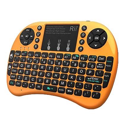 ZFF-YXJP I8 + Bluetooth Mini Teclado inalámbrico, Ratón Teléfono móvil Ordenador Portátil Retroiluminación