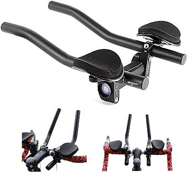 MAOO - Manillar de Bicicleta TT, Manillar triatlón con Clip ...