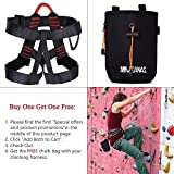 Weanas Thicken Climbing Harness, Protect Waist Safety...