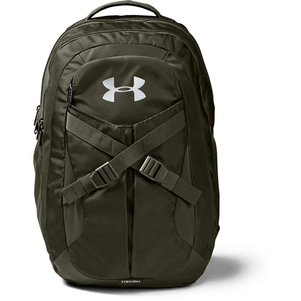Under Armour Recruit Backpack 2.0, Guardian Green//Silver, One Size Fits All