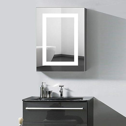 Amazon Com 24 X 32 Led Lighted Bathroom Medicine Cabinet