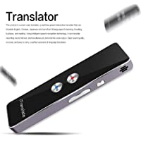 Portable Smart Voice Translator Two-Way Real Time Multi-Language Translation For Learning Travelling Business Meeting