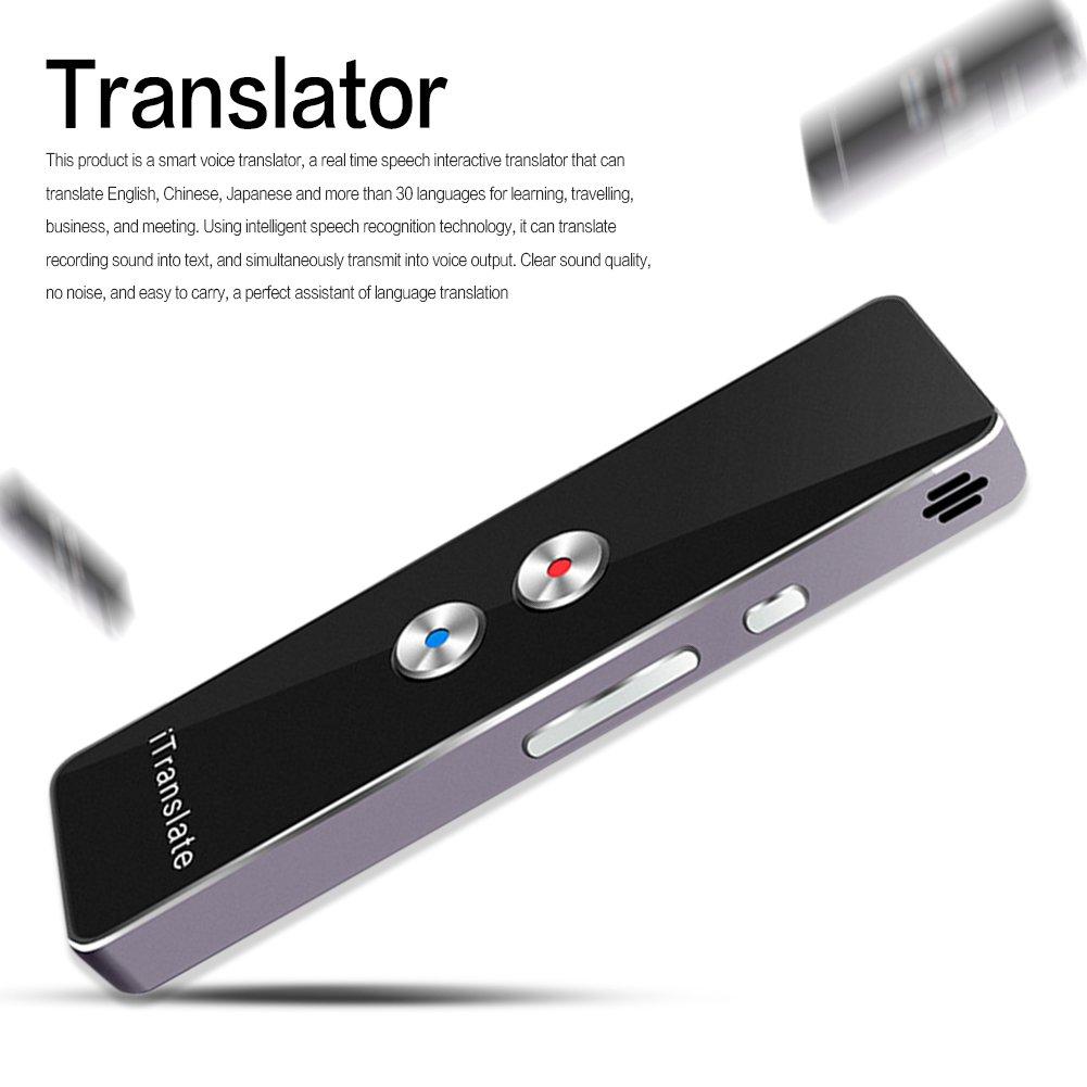 Shootingstar Elektronische /Übersetzer von Fremdsprachen Intelligente tragbare /Übersetzer von Sprache /Übersetzer mehrsprachig von zwei Arten der /Übersetzung in Echtzeit f/ür das Lernen