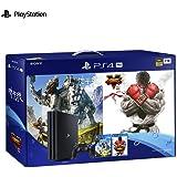 【现货发售】SONY 索尼 PlayStation 4 Pro 国行游戏机 电脑娱乐 游戏机 支持4K 1TB(黑色)大作贺岁套装 德邦或顺丰发货 默认开具电子发票