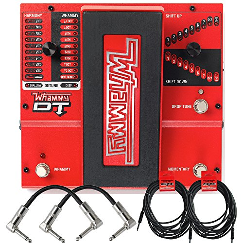 - Digitech Whammy DT Pitch Shift Drop Tune Guitar Effects Pedal and Cables