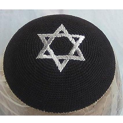 Amazon 17cm 66inch Jewish Kippah Yarmulke Yarmulka Hat Star Of