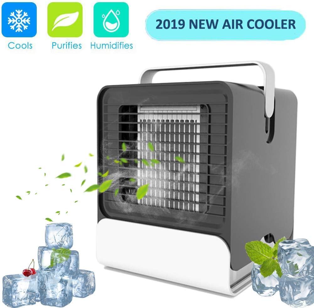 Enfriador de aire portátil portátil portátil – Mini humidificador ...