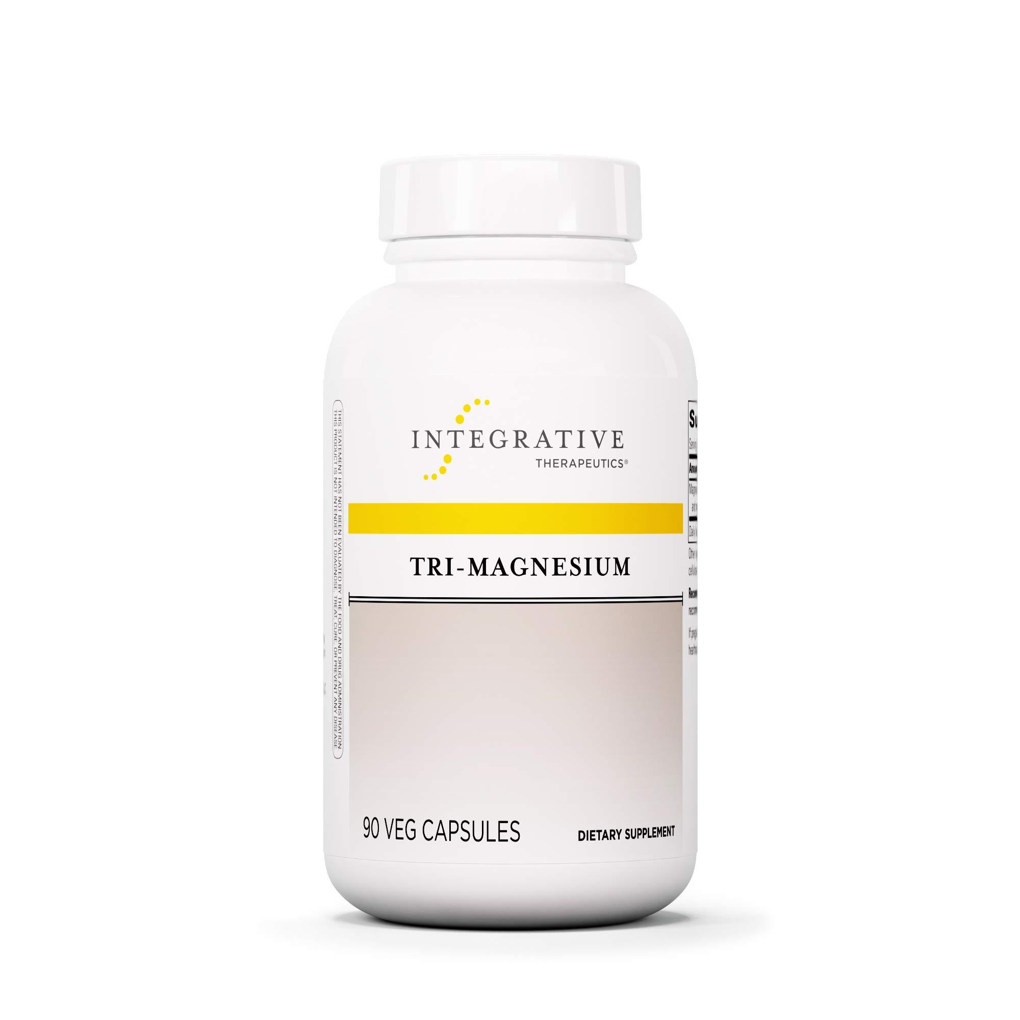 Integrative Therapeutics - Tri-Magnesium - Well Tolerated Elemental Magnesium including Magnesium Citrate and Magnesium