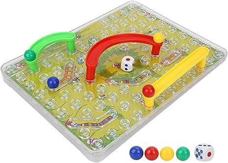 Alomejor Juego de Rompecabezas para niños Juguetes de Mesa Divertidos Serpientes magnéticas Escaleras Laberinto Juego Niños aprendiendo Juguete Inteligente: Amazon.es: Deportes y aire libre