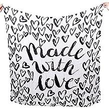 "Milk Snob ""Made with Love"" Modern Swaddle"
