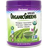 Bluebonnet Nutrition Super Earth Organic Greens, Green Powder Superfood, 7.4 Ounce
