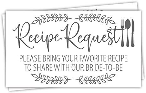 Leave Your Recipe Card Here Bridal Shower Sign Printable Recipe Card Sign Housewarming Gift Place Your Recipe Cards Here