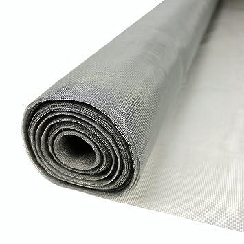 Fiberglas-Netz Grau 1 m breit