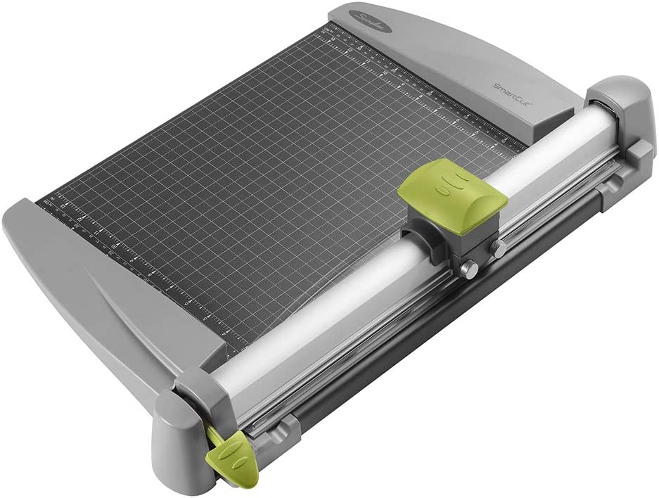 "Swingline Paper Trimmer, Rotary Paper Cutter, 15"" Cut Length, 30 Sheet Capacity, Commercial, Heavy Duty, SmartCut (9615) : Rotary Paper Trimmers : Office Products"