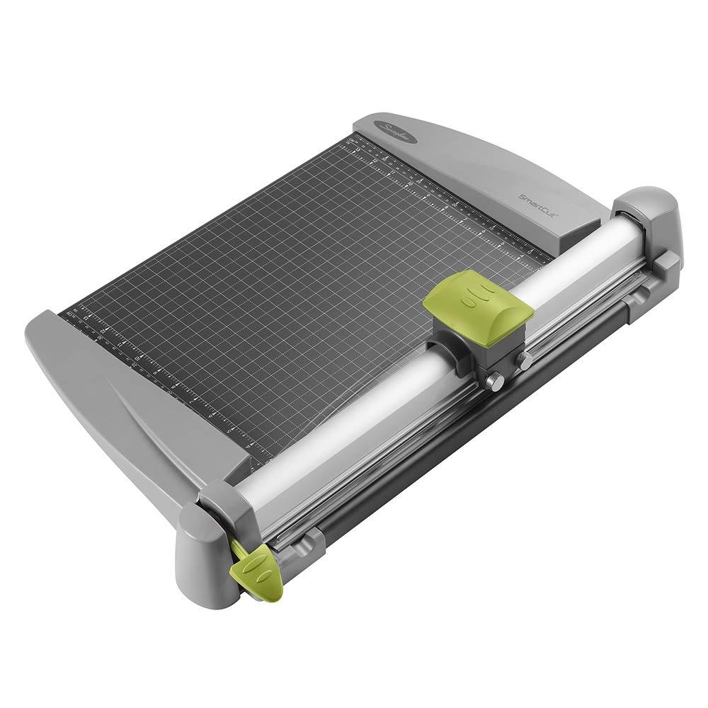 Swingline Paper Trimmer, Rotary Paper Cutter, 15'' Cut Length, 30 Sheet Capacity, Commercial, Heavy Duty, SmartCut (9615) by Swingline