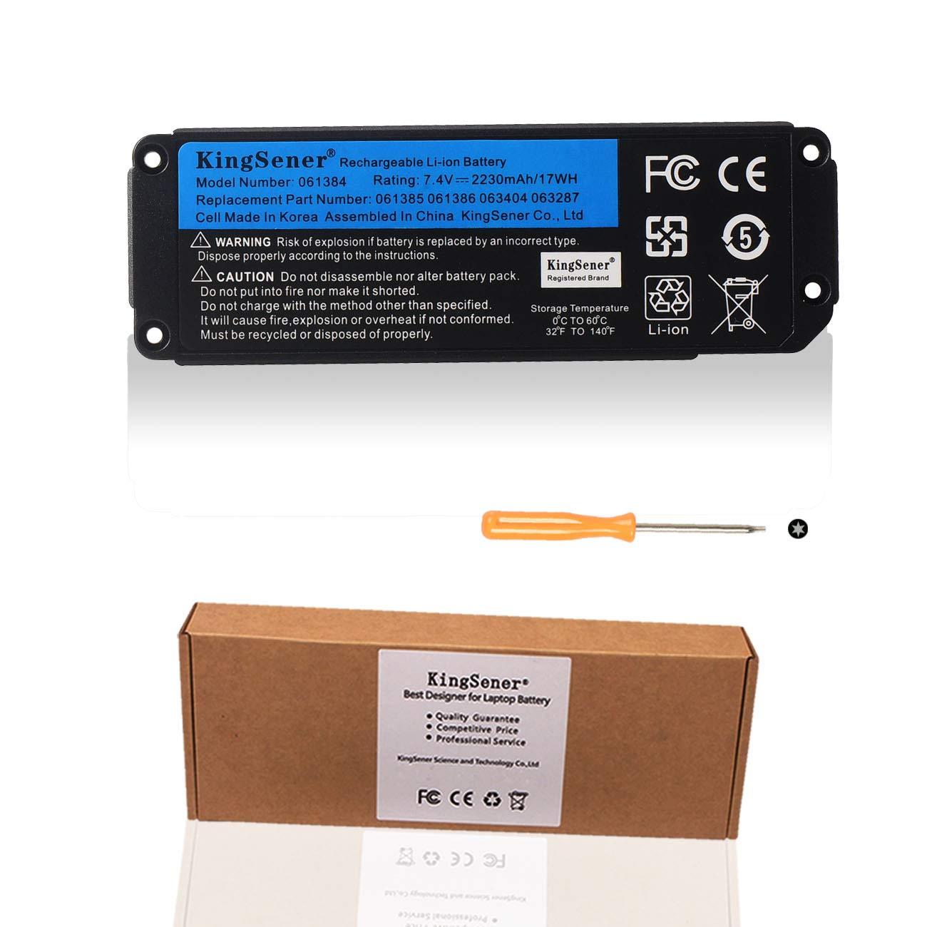 7.4V 2230mAh 17Wh 061384 061385 061386 063404 063287 Speaker Battery Replacement for Bose Soundlink Mini 1 one Bose Soundlink Mini I Bluetooth Speaker Wireless Speaker Mini one