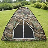 Gazelle Outdoors Camouflage Camping Hiking Easy Setup Instant Pop up Tent