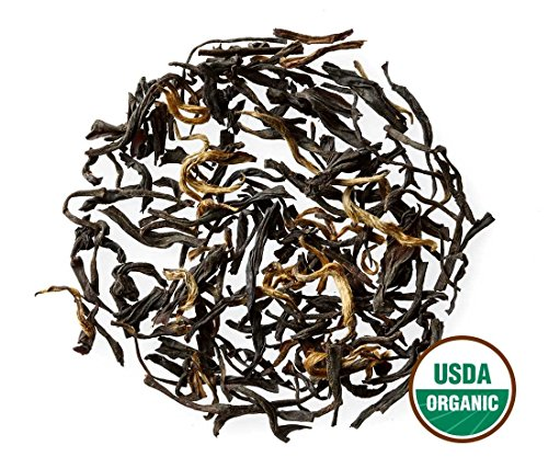 - Golden Monkey Tea - Organic - Loose Leaf - Bulk - Non GMO - 91 Servings