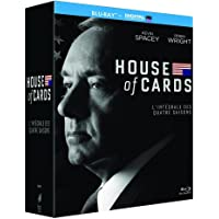 House of Cards - Intégrale saisons 1-2-3-4 [Francia]